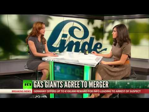 Gas giants Linde, Praxair agree to mammoth merger