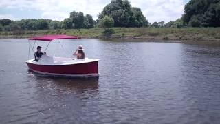Le SCOOP débarque en vidéo !! - Bateau électrique - Ruban Bleu