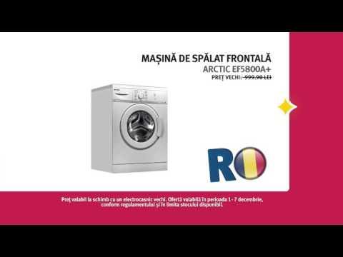 Reclamă ALTEX - mașină de spălat ARCTIC - decembrie 2015