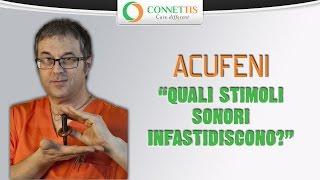 Acufene: Quali stimoli sonori infastidiscono chi ne è soggetto?
