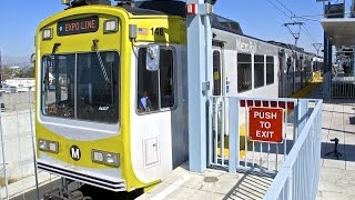 Metro Rail - Expo Line in Los Angeles