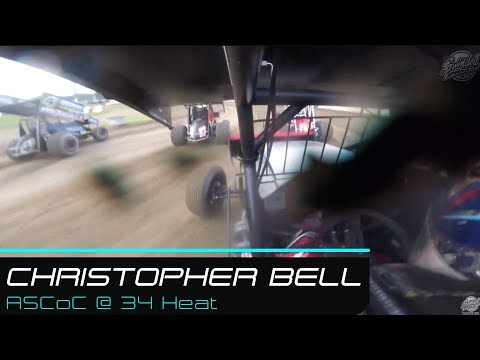 Christopher Bell |  | All Star Circuit of Champions @ 34 Raceway Heat | 7.28.19