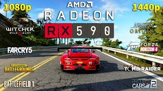 Radeon RX 590 Test in 8 Games 1080p and 1440p