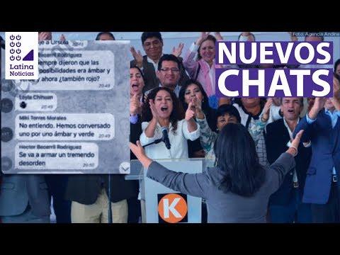 La 'Botica': Nuevos chats muestran acuerdo para dividir votación de la cuestión de confianza