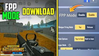 How to Play New FPP Mode in PUBG Mobile Lite | Download FPP Mode