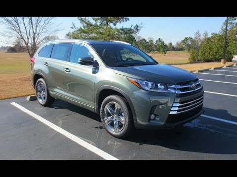 2017 Toyota Highlander Limited Platinum Full Tour Start Up At Mey