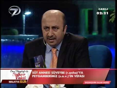 Ömer Döngeloğlu Peygambere Hakaret eden Ekşi sözlüke cevaben Kanal 7 de yayında ağladı