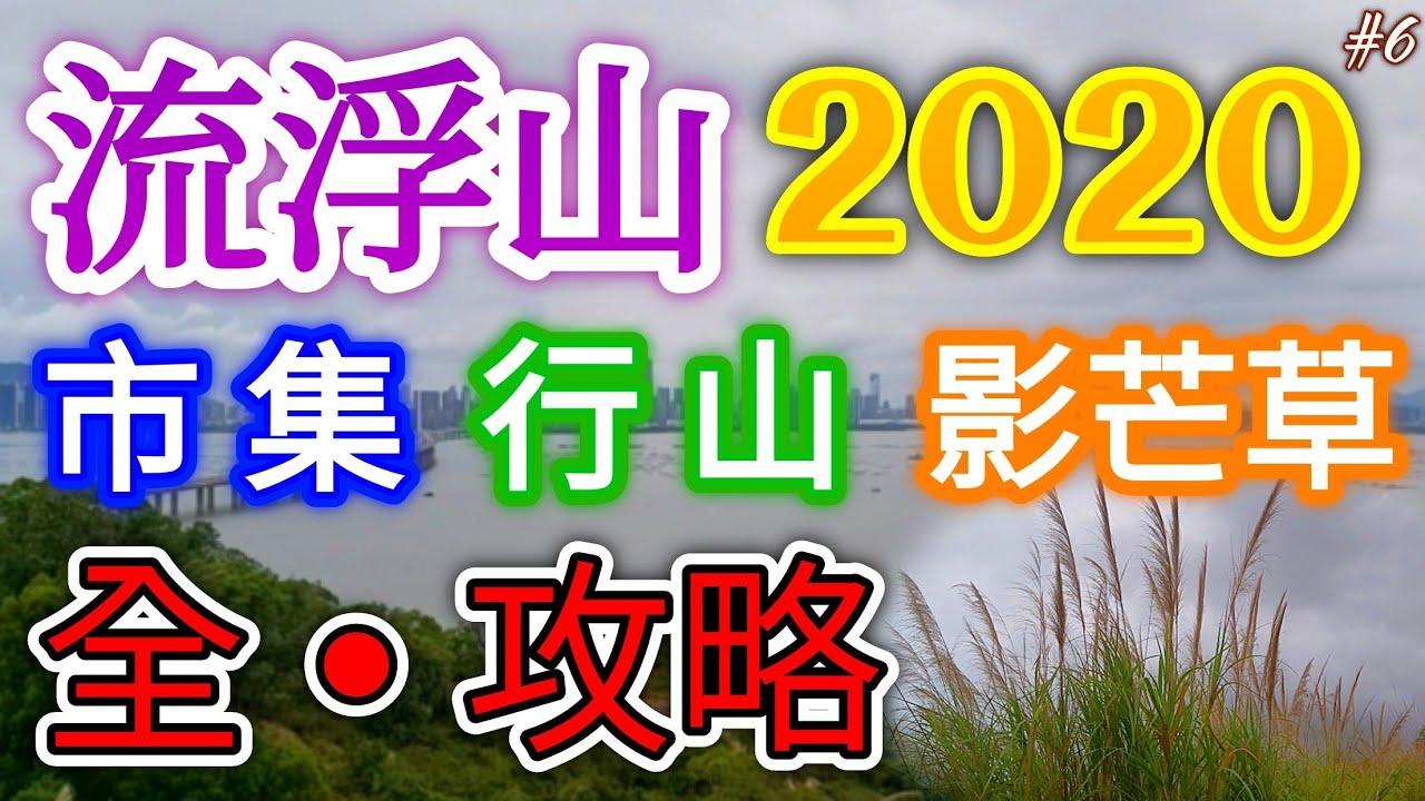 《流浮山2020全攻略》秘•芒草之路🌾日落雞伯嶺🌄特色市集‼️【旅遊片🇭🇰】