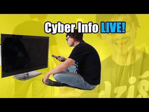 Dziś tak bardziej LIVE! - Cyber INFO #59