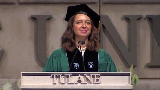 Maya Rudolph delivers commencement laughs to Tulane Class of 2015