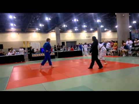 Wild west Judo classic (2015) Grand Finals Robert Nolan v Lewis Donnelly