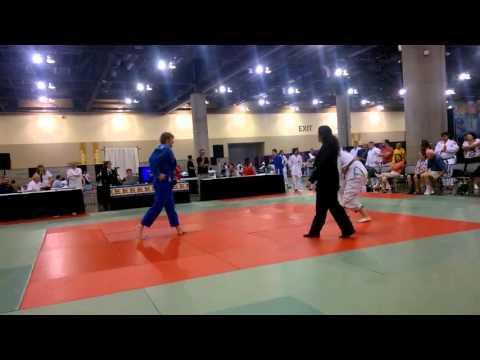 Wild west Judo classic (2015) Grand Finals Robert Nolan v Lewis Donnelly