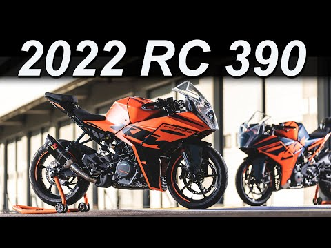 2022 KTM RC 390 Updates Overview   Major changes!