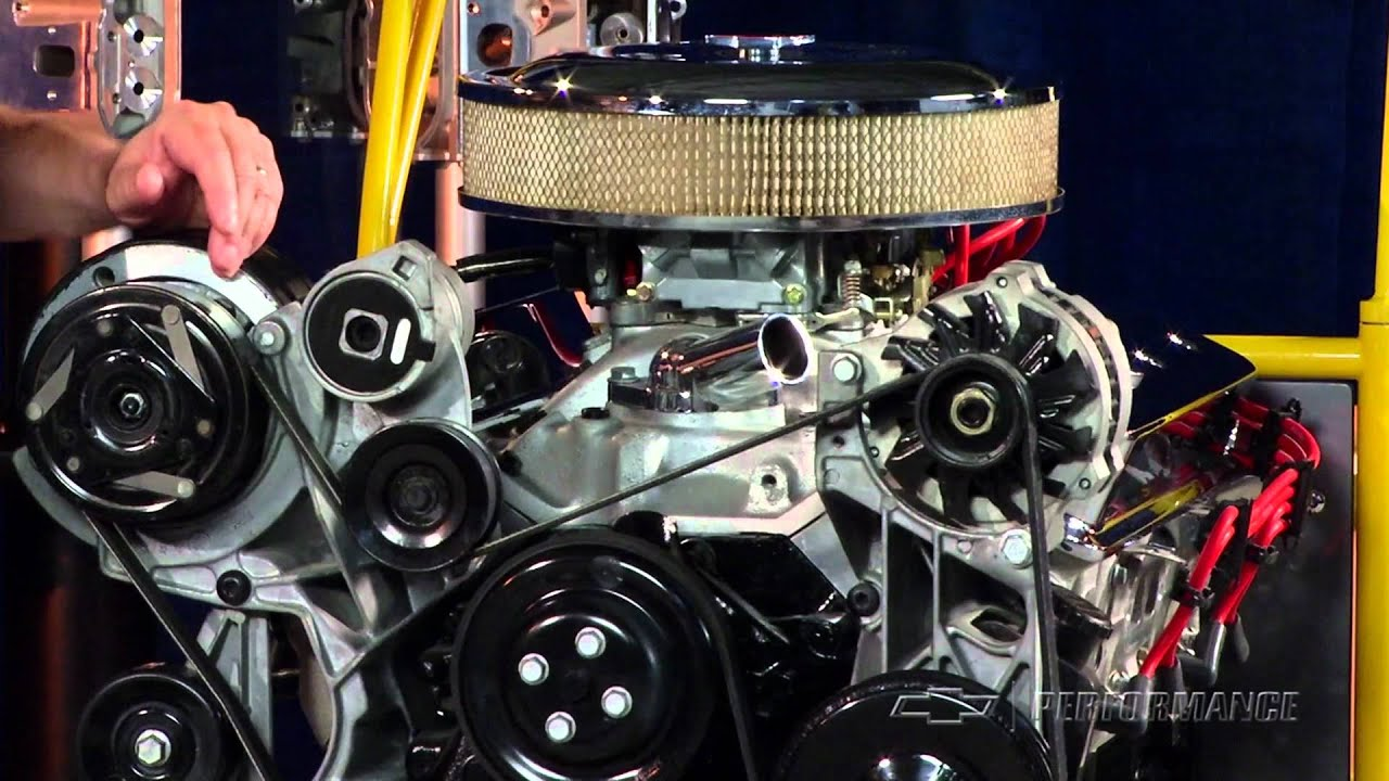 Check out Chevy Performance's ZZ4 Small Block 350 Engine!
