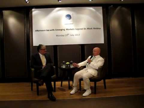 Dr. Mark Mobius - Afternoon Tea with MBMG  Group  29 July 2013