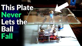 Ball on plate PID controller with Arduino - (1/2)