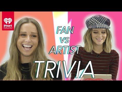 Maren Morris Goes Head to Head With Her Biggest Fan | Fan Vs Artist Trivia