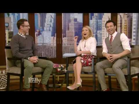 Jeffrey Donovan  interview Live With Kelly 12/05/2016 co-host Corbin Bleu