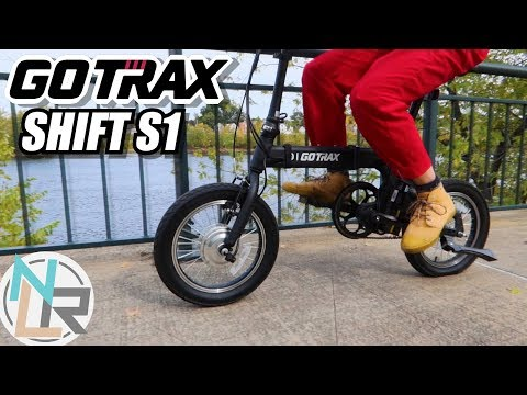 GOTRAX Shift S1 - This Folding eBike Could Fit Anywhere!
