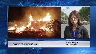 События Череповца: пожар, реконструкция библиотеки, выставка ко Дню защиты детей