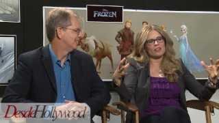 Disney's Frozen Directors Chris Buck And Jennifer Lee (Exclusive Interview)