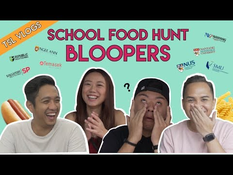 POLY AND UNI FOOD HUNT BLOOPERS | TSL Vlogs