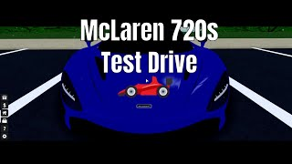 Ultimative samminieren Roblox   Testfahrt des McLaren 720s (READ DESC)