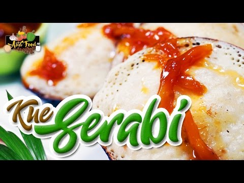 Serabi Traditional Cake from Cirebon [Eng subtitle] - Asta And Food