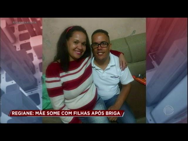 Mulher desaparece com as filhas após agredir o marido com barra de ferro