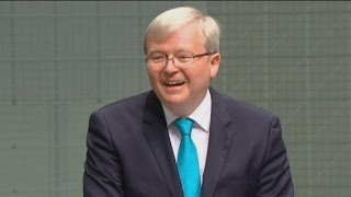 Kevin Rudd announces his retirement from Parliament
