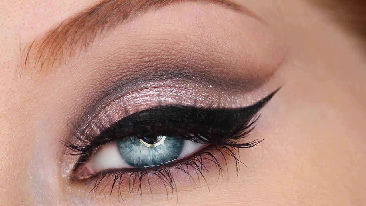 Tutorial Cut Crease Cat Eyes Makeup Youtube