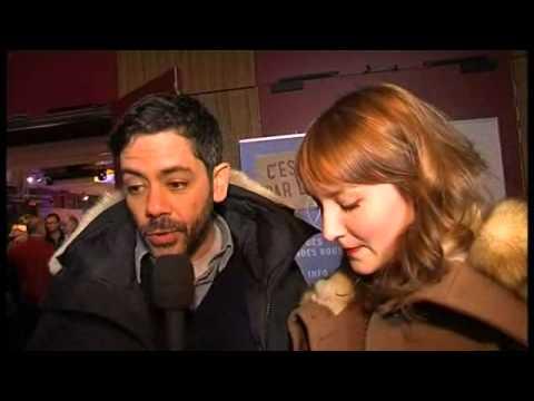 Interview Manu Payet et Anaïs Demoustier au festival du film de comédie de l'Alpe d'Huez
