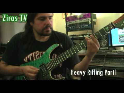 Heavy Riffing Part 1   Lick Of The Week 44