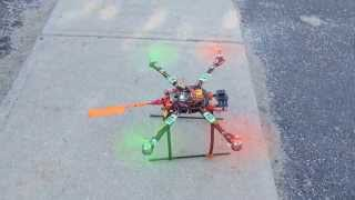 Hobby King Quad copter maiden