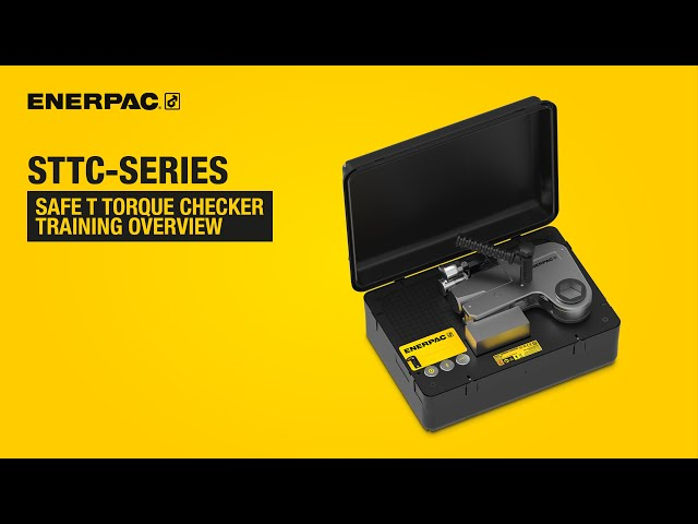 Safe T Torque Checker Training Overview | Enerpac STTC-Series