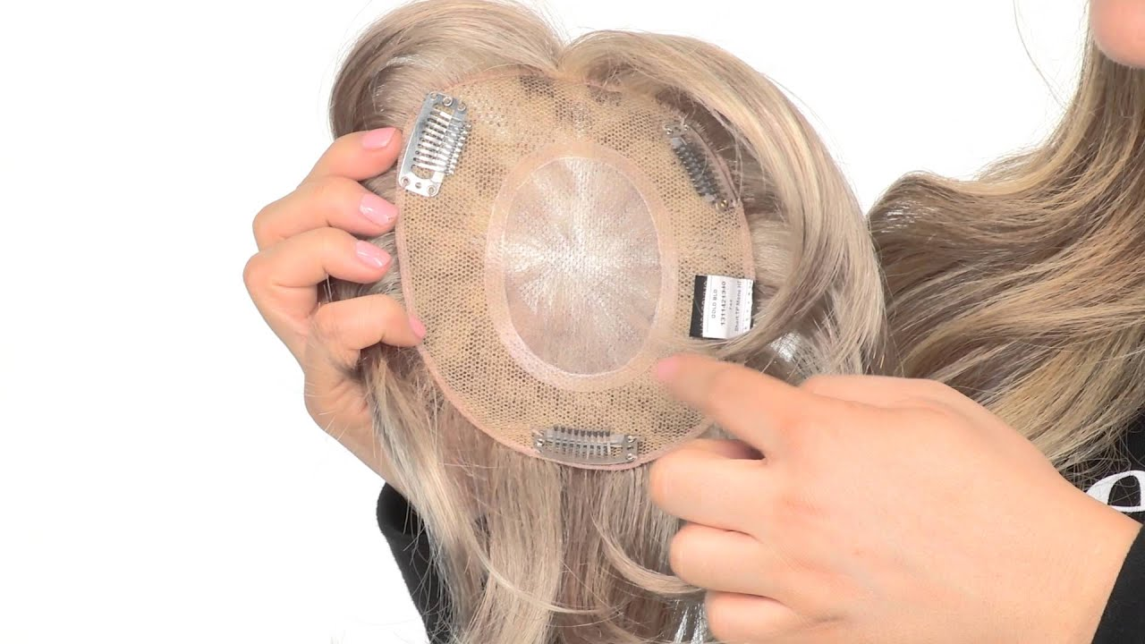 how to add puff hair extension on crown