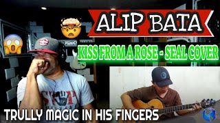 ALIP BA TA Kiss From a Rose SEAL fingerstyle cover #alipers - Producer Reaction