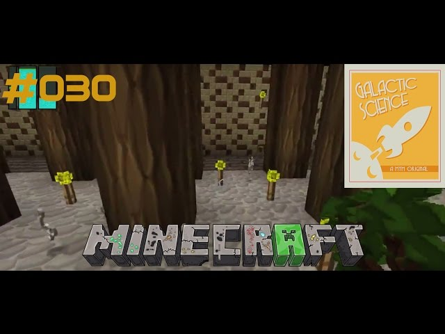Let's Play Minecraft Galactic Science | Endlich genug Wolle | Folge #030