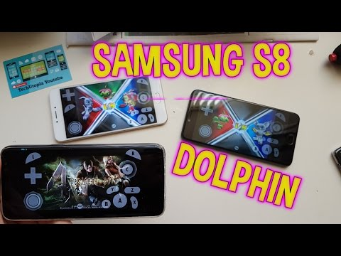 Dolphin test on Samsung S8/Exynos 9 version/gpu Mali G71(Gamecube games) Android emulator