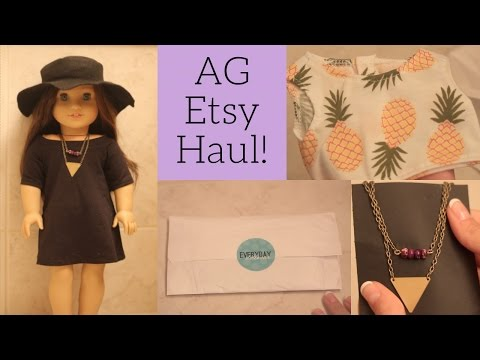 AG Etsy Haul! ♡ Doll Clothes, Jewelry, & More!