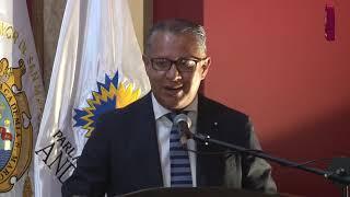 Tema:Instalación y Juramentación del Parlamento Andino Universitario en la UNMSM