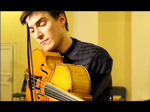 Sergey Malov plays exerpts from Bach`s 6th Suite on Cello da Spalla
