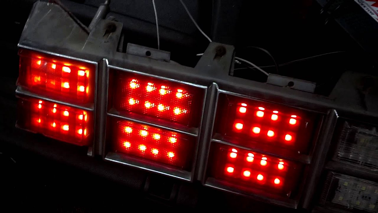 Monte Carlo Led Tail Light Youtube