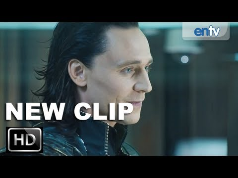The Avengers 'Loki Imprisoned' Official Clip [HD]: Nick Fury & Loki, You Don't Know Real Power