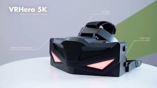 VRHero 5K Professional Grade VR Headset at GTC Europe