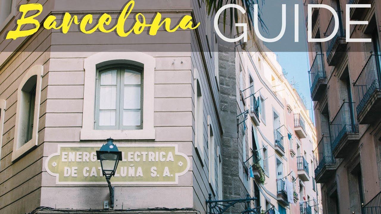 Visiter Barcelone Mes Bons Plans Et Budget Youtube