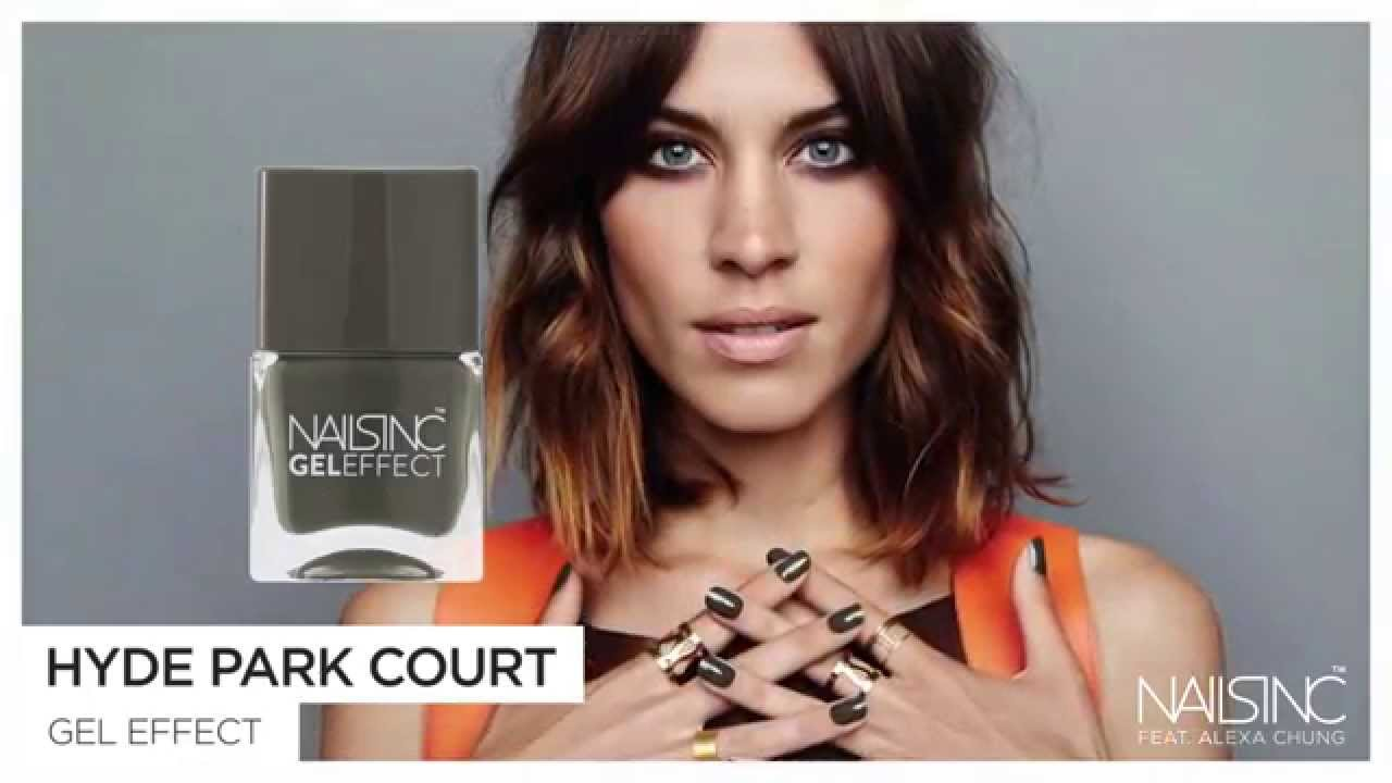 Nails Inc And Alexa Chung Behind The Scenes For Fall Winter 2015
