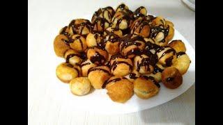 Творожные пончики! Cottage cheese donuts!