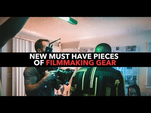 5 Must Have Pieces Of Filmmaking Gear!