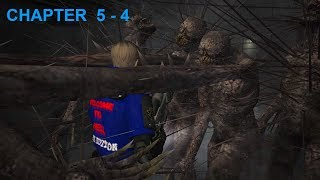 """Resident Evil 4 - Story (Welcome To Hell - """"Dark Edition"""") Mode - Chapter 5-4 (New Game - Pro) HQ"""